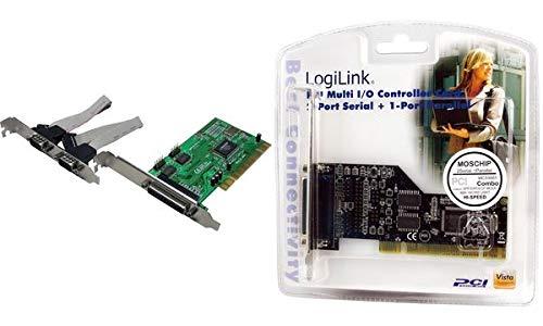 LogiLink Seriell Parallel PCI Karte, 3 Port 4260113561881