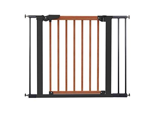 BabyDan Avantgarde Barrière à Fixation par Pression pour Porte/Escalier Cerisier/Noir 71,3-97,6 cm