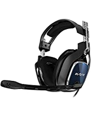 ASTRO Gaming A40 TR Gaming Headset + MixAmp Pro TR, 4e Generatie, Astro Audio V2, Dolby Audio, Verwisselbare Mic, Game/Voice Balance Control, Xbox Series X|S, Xbox One, PS5, PS4, PC, Mac - Zwart/Blauw
