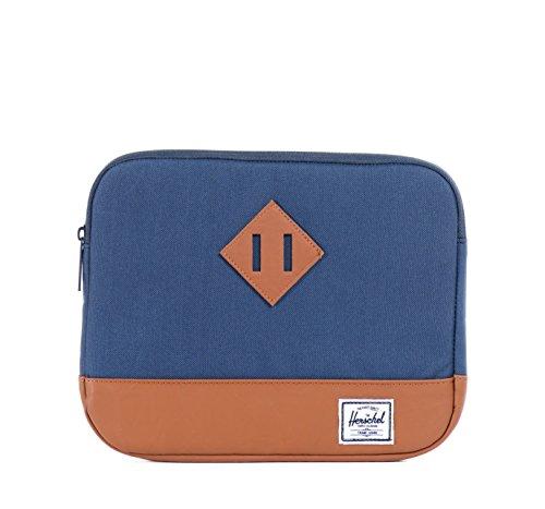 Herschel Tablet-tasche Heritage, dunkelblau/braun, 31 x 22 x 2 cm, 10177-00007
