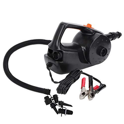 Bomba de CC para coche, fácil de usar, duradera, excelente y potente, bomba de aire, bomba de aire eléctrica portátil negra, que(Strengthen DC air pump)