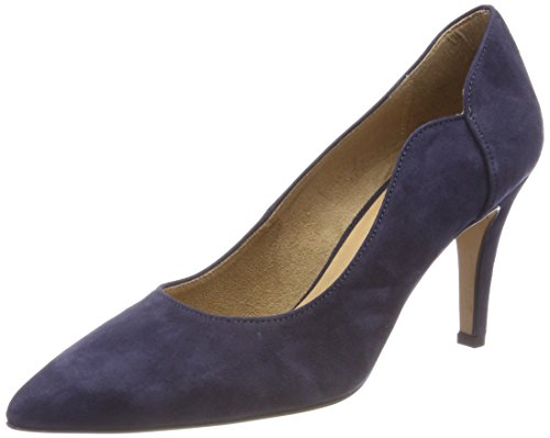 Tamaris Damen 22472 Pumps, Blau (Navy), 36 EU