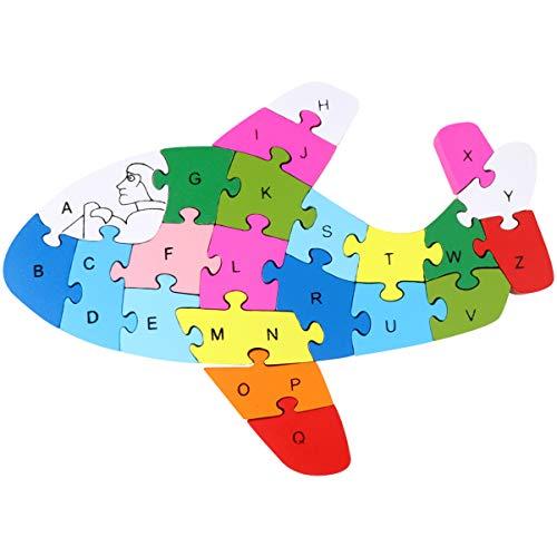 TOYANDONA 1 St Houten Alfabet Puzzel Bouwstenen Puzzel Educatief Speelgoed Voor Kinderen