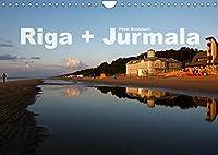 Riga + Jurmala (Wandkalender 2022 DIN A4 quer): Die Hauptstadt Lettlands und der nahegelegene Badeort Jurmala in einem Kalender vom Reisefotografen Peter Schickert. (Monatskalender, 14 Seiten )