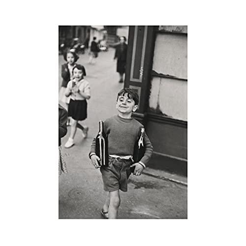 DuanWu Henri Cartier-Bresson Capturando la Esencia de los Carteles e Impresiones del Vino Lienzo Arte de la Pared Pintura Imágenes Decoración del hogar -50x70 cm Sin Marco