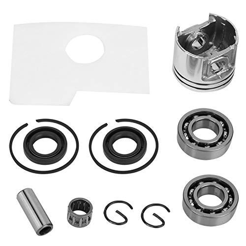 Kit de pistón de motosierra de aluminio, repuestos de accesorios de motosierra de repuesto para Stihl MS180 MS 180 018 repuestos de motosierra