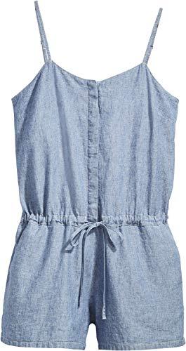 Levi´s ® Damen Kleid Rock Amber Romper Light WASH ORIGINAL S