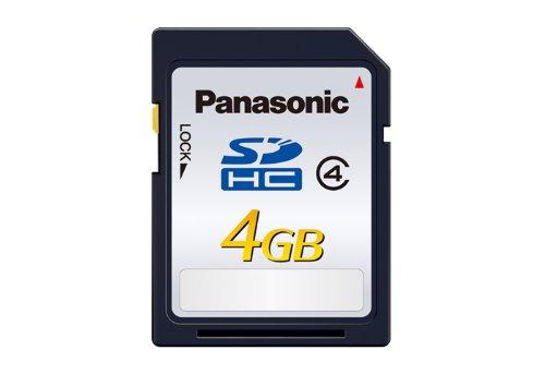 Panasonic RP-SDLB04GAK Class 4 SDHC 4GB Speicherkarte