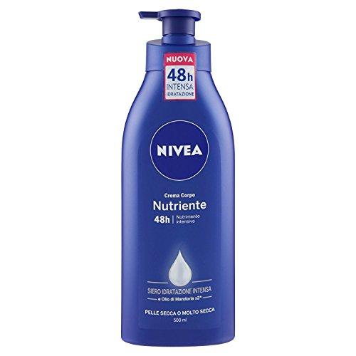 Nivea - Crema Corpo Nutriente - Nutrimento Intensivo, Idratazione Profonda E A Lunga Durata - 500Ml