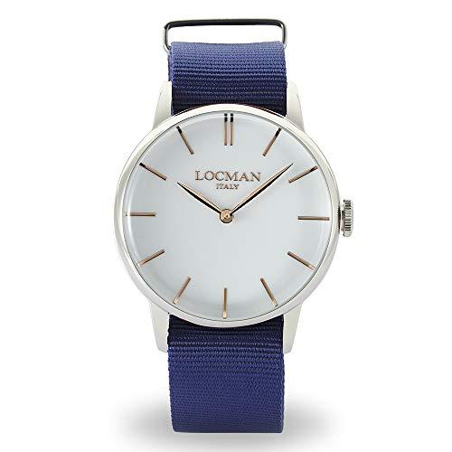 Locman - Reloj de hombre 1960 de acero azul