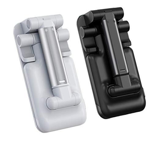 Mikelabo Tablet/Phone Holder, Universal Adjustable Aluminum Desktop Lazy Bracket, for iPad Pro 9.7, 10.5, iPad Air mini 2, 3, 4, Tab, Nintendo, 4.7-11, Other Smartphones and Tablets (4-12.9 inch)