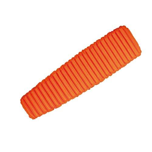 Yughb Colchoneta Inflable, TPU, portátil colchón de Aire Individual, a Prueba de Humedad del Aire Dormir de la Estera, for Hacer Senderismo, mochilero, Hamaca, Tienda de campaña (Color : Orange)