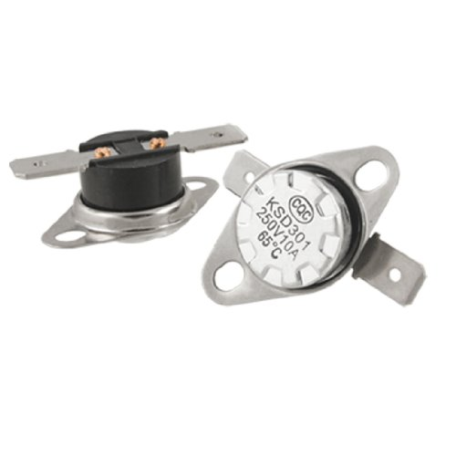 sourcing map 5 x 149F 65 Celsius Temperatur gesteuert wechseln Thermostat KSD301 N.C