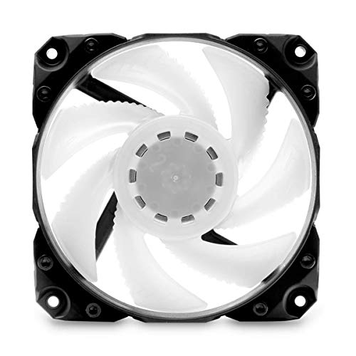 EKWB EK-Vardar X3M 120ER PWM 120mm Fan, 500-2200 RPM, Digital RGB, Black, 3-Pack