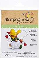 Stamping Bella Cling Stamps-Gnome W/A Candy Cane