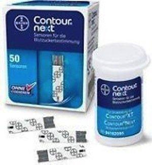 Contour Next Blood Glucose Test Strips 1x50