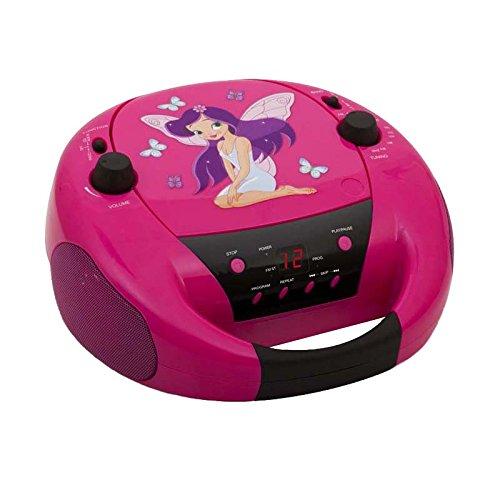 BigBen - AU328011 - CD-Radio CD52 - Fairy II in Pink