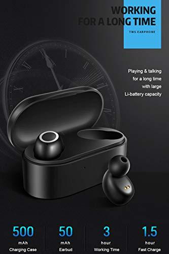 ALIKEEY Kabellose Kopfhörer Mini Twins Echte Sport Ohrhörer mit Bluetooth In Ear Stereon Ohrhörer für iPhone, iPad, Samsung, Huawei, xiaomi und mehr