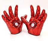スーパーヒーロー 赤い手袋 コスプレ 小道具 アクセサリー ハロウィン おもちゃ 輝くグローブ