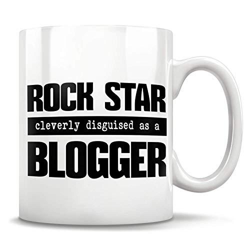 Lawenp Taza de emprendedor, regalos para blogger, tazas para blogger, blogger de estilo de vida, regalo de cumpleaños de blogger, hobby de blogs, regalos para personas influyentes 11 oz