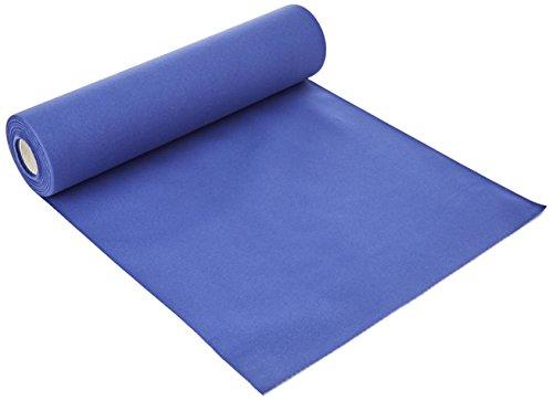 Semy bieżnik na stół Airlaid, 40 x 120 cm, niebieski, 1 opakowanie (1 x 20 sztuk)