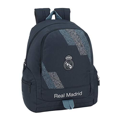 Safta 072411 Real Madrid 2 Mochila Tipo Casual 43 cm, 1 litro, Azul