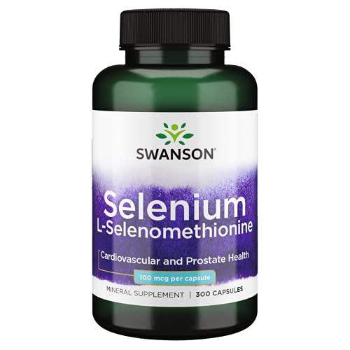 Swanson Selenium (L-Selenomethionine) 100 mcg 300 Capsules