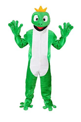 Froschkönig  Kostüm Einheitsgrösse L-XL Fasching Karneval Fastnacht