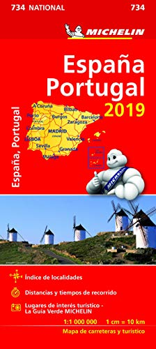 Mapa National España - Portugal (Mapas National Michelin)