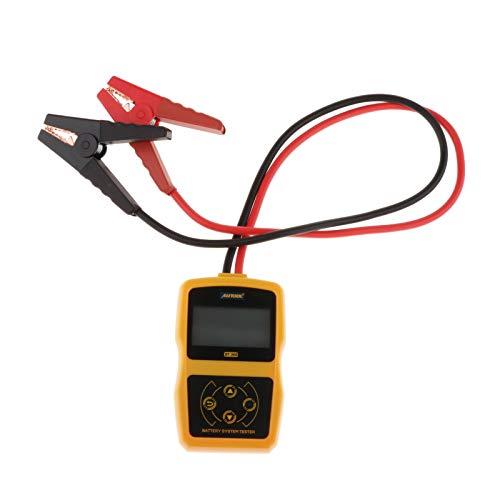 H HILABEE Probador de Batería de Coche de Vehículo de 12 V, Herramienta de Escáner de Analizador de Prueba de Arranque de Carga