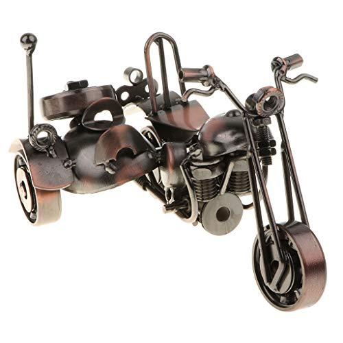 Modelo de Motocicleta/Tractor de Hierro Artesanal Arte de Escultura Co