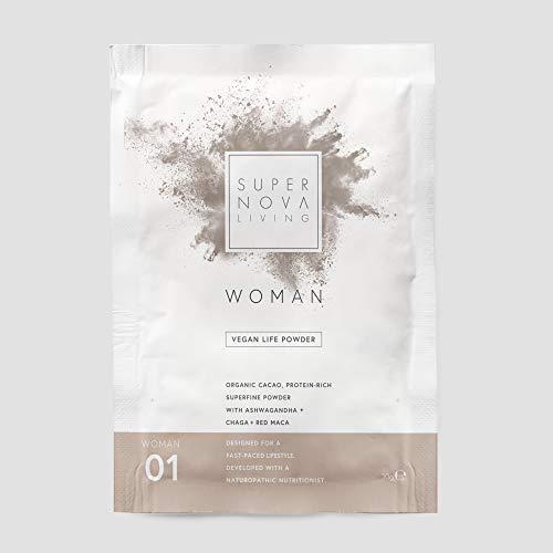 Supernova Living Woman's Protein Powder, No.01 Red Maca, 30 g