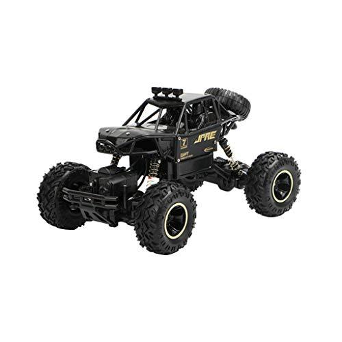 Huhu833 Übergroß Ferngesteuertes Auto RC Off-Road Buggy 1:16 2.4GHz Funkfernsteuerung Elektro Geländewagen Draußen Spielzeug Auto für Erwachsene und Kinder (Schwarz)
