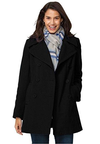 Women's Plus Wool & Pea Coats