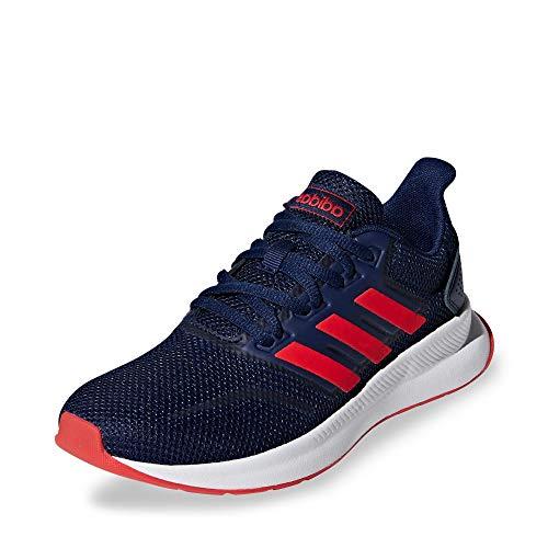 Adidas Runfalcon K, Zapatillas de Trail Running Unisex Adulto, Multicolor (Azuosc/Rojact/Negbás 000), 39 1/3 EU