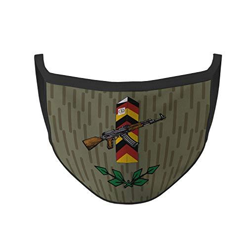 Copytec Mund Maske Grenztruppen NVA Grenzstein DDR AK Strichtarn Grenze Sicherung #35750