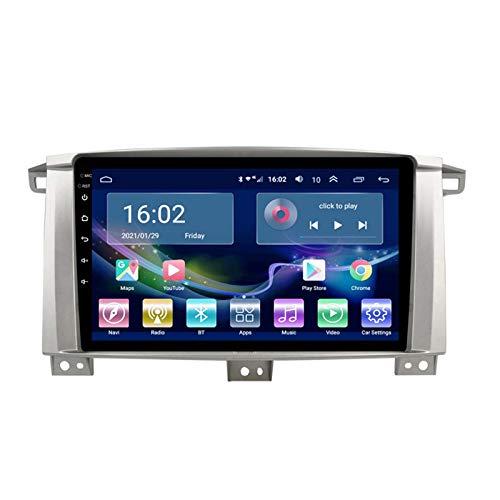 GPS 2GB + 32G 4G Pantalla Grande Android Smart GPS Navegación, Para Toyota Cruiser LC100 05-07 Navegador GPS, Notificación De Voz De Varias Condiciones De Tráfico, Actualización(Size:2G+32G mo