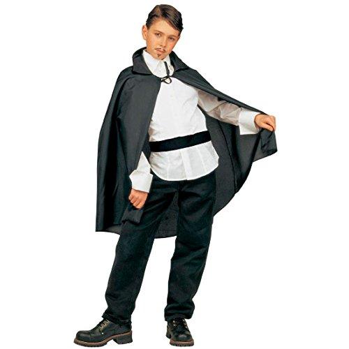 Amakando Cape Enfants Zorro Manteau Vampire Dracula déguisement Halloween 90 cm Horreur sorcière Magicien Carnaval des Enfants Accessoire