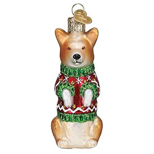 Old World Christmas Christmas Corgi Tree Ornament