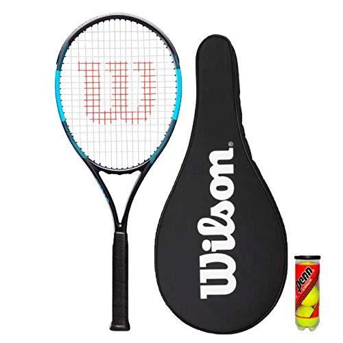 Wilson F-Tek 105 Tennisschläger Racket + 3 Tennis Balle
