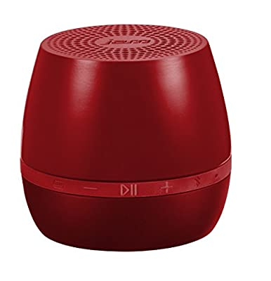 Jam Classic 2.0 – Portable Bluetooth Speaker, Wireless Connect Any BT Device, 2'' Full Range Driver, Massive Sound for Size, 2hr Recharge / 5hr Play Time Battery Life, Speakerphone, Aux In - Red by FKA Brands Ltd