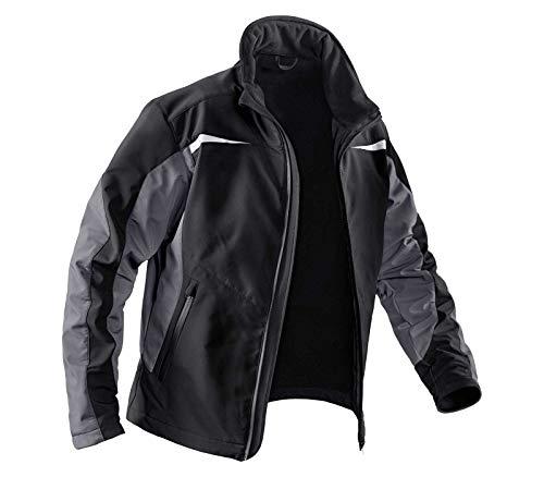 KÜBLER Workwear KÜBLER Weather Arbeitsjacke schwarz, Größe S, Unisize-Arbeitsjacke aus Mischgewebe, Funktionelle Arbeitsjacke