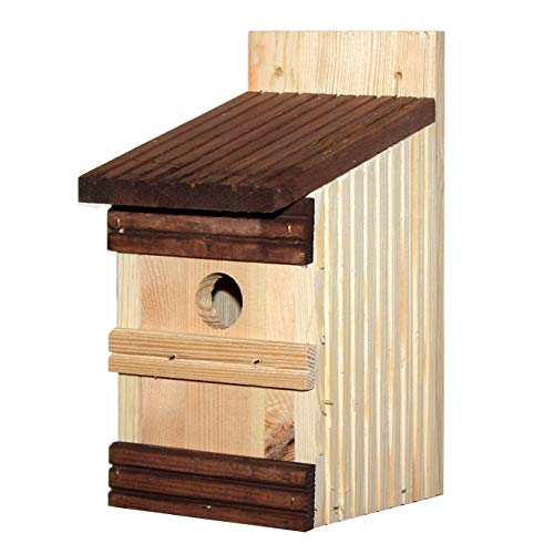 Nistkasten Vogelhaus Meisenkasten Nistkästen Nisthöhle Holz Natur 110x130x250