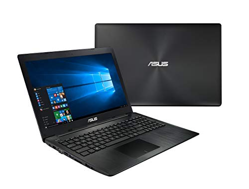 Asus X553SA-BHCLN10 15.6-Inch Laptop (Intel Celeron Dual Core N3050 Processor, 4GB, 500 GB HDD, Windows 10), Black (Renewed)