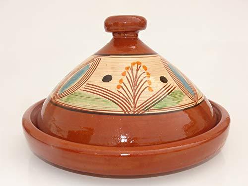 Marokkanische Tajine zum Kochen Ø 35 cm für 3-5 Personen - 905118-000923