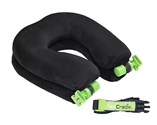 Face Cradle Neuestes Modell, 5 Modi plus, Multi-Funktion, bessere Nackenstütze, Schlaf vorwärts für Reisen im Flugzeug, Auto, Bus, Zug oder für ein Nickerchen auf jedem Tisch.
