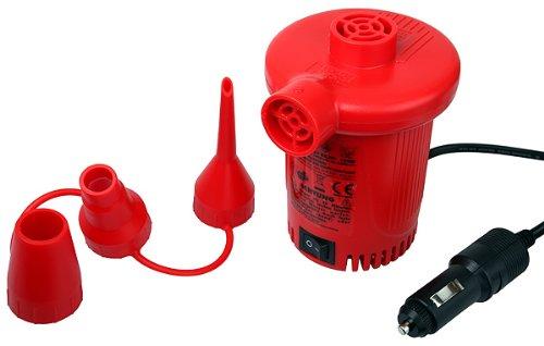 Luftpumpe: elektrische 12 Volt Luft Pumpe und Absauger für Luftmatratzen etc. 12V KFZ-Stecker