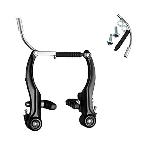 IrahdBowen Aluminiumlegierung Mountainbike V-förmige Bremse Langlebig Und Präzise Fahrradbremsen Flexibilität Rennrad Bremsen Flexibilität Rennrad Bremsen Reiten Zubehör