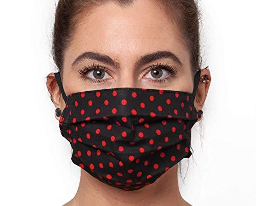 Waschbare Mundbedeckung Maske aus Baumwolle in verschiedenen Größen Mundmaske