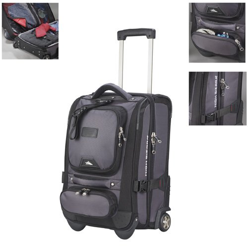 High Sierra 21' Carry-On Duffel - Charcoal